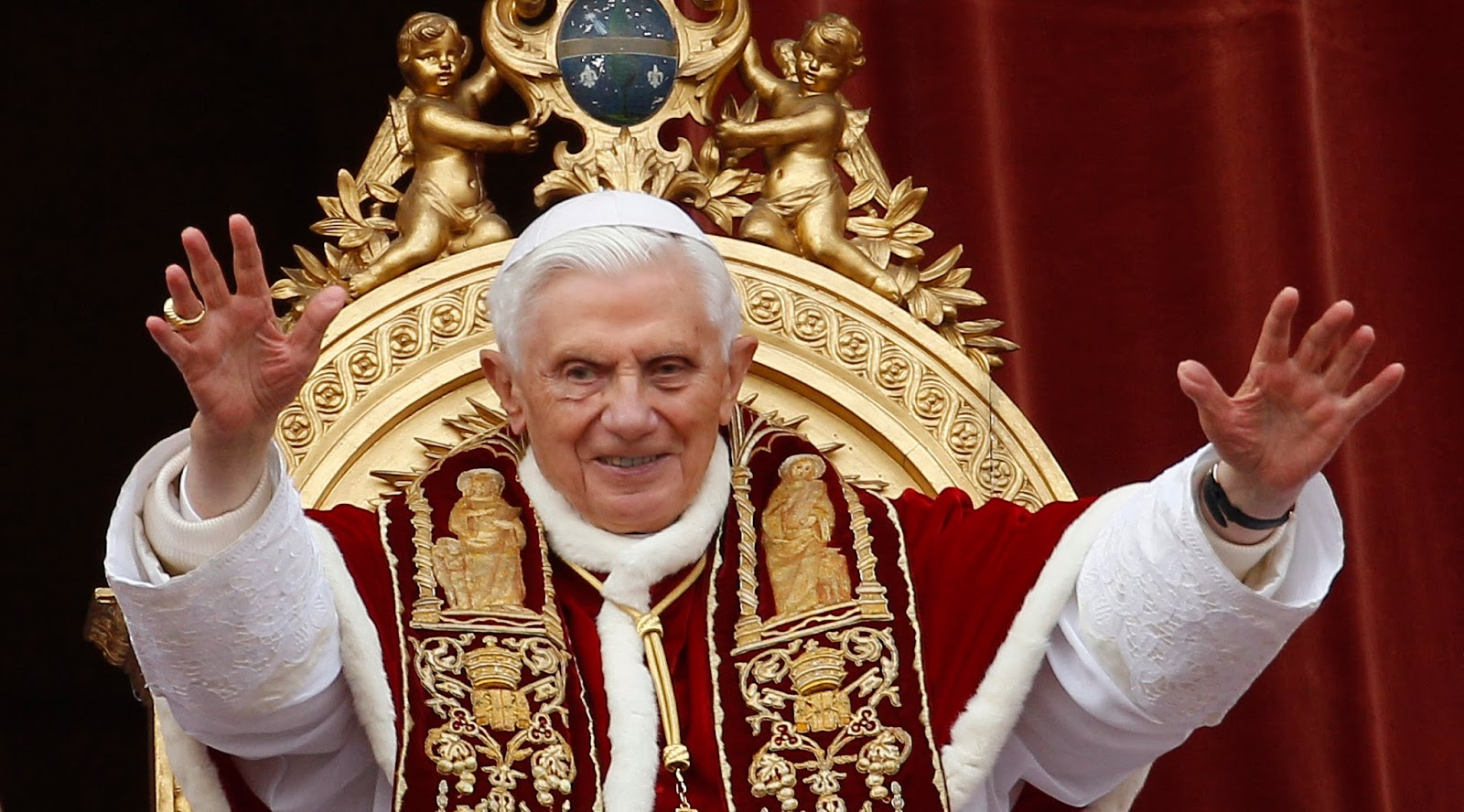 What is the original birthday congratulation for the pope to come up with